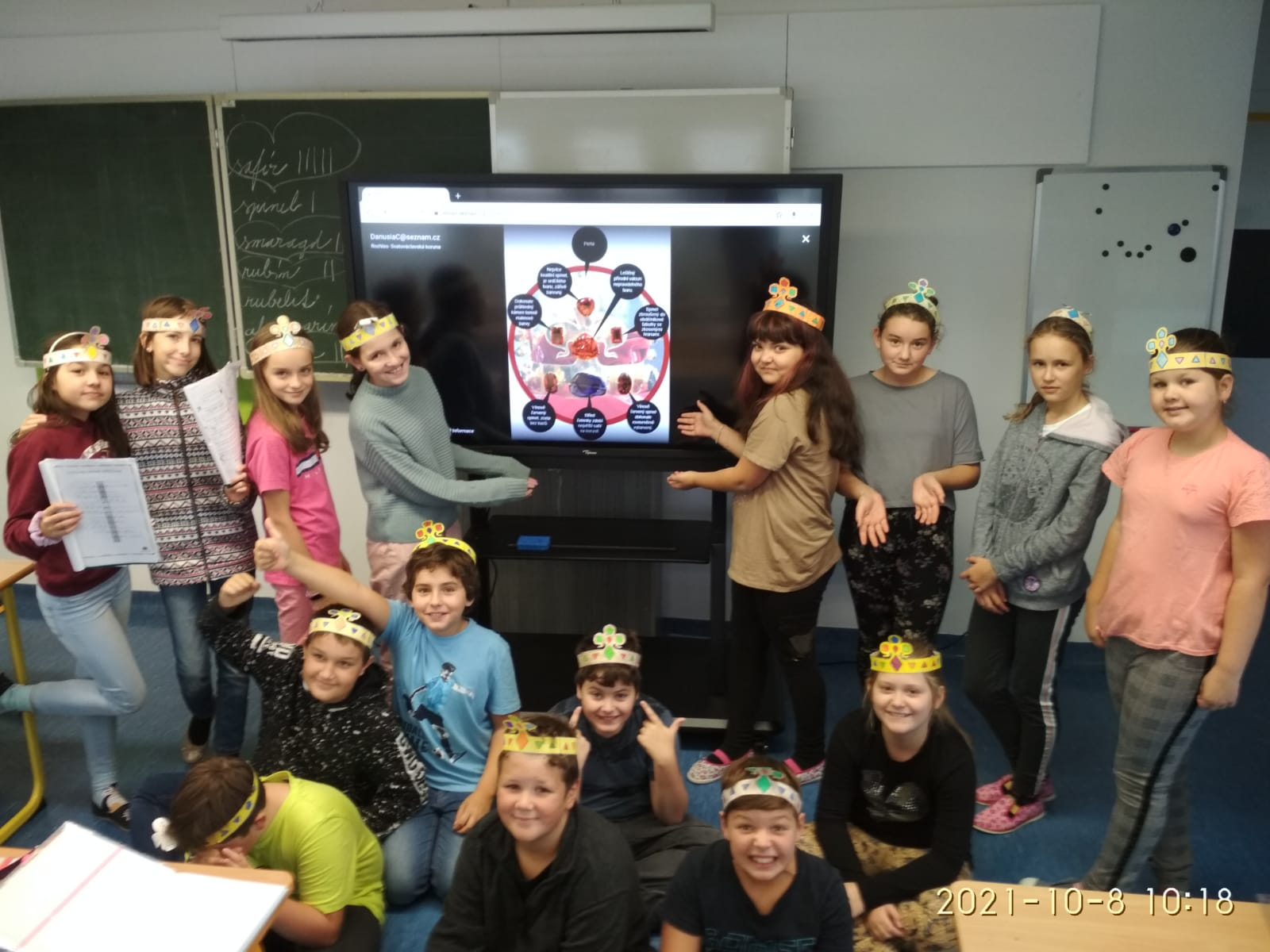 Książę Wacław zawitał do IV i V klasy